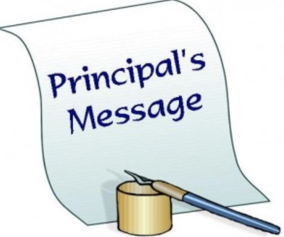 June 12, 2020 - Message from Principal, Brian Lynch