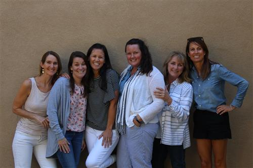 The Kindergarten Team Members: Carey Ritola, Sarah Vattuone, Teresa Bowe, Eve Swagerty, Marcia Gillespie, Barri Johnson